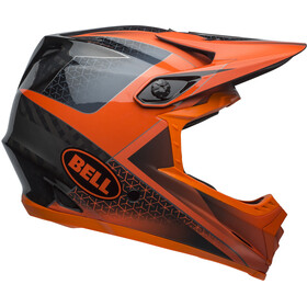 Bell Full-9 Helmet matte/gloss slate/dark gray/orange